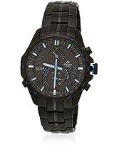 Ex212-Eqs-A500Dc-1A2Vdf Black/Black Edifice Chronograph Watch Casio