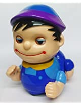 Baby Naughty Musical Crawling Boy Toy (Color May Vary)