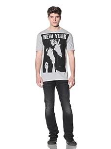 MG Black Label Men's New York T-Shirt (Grey)