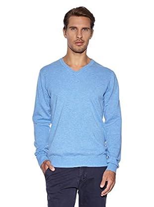J.Lindeberg Jersey Cachemira Fales (Azul Claro)