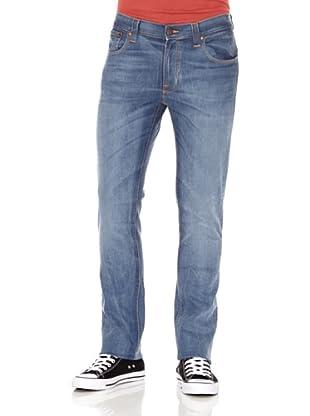 Nudie Jeans Pantalón Thin Finn (Azul)