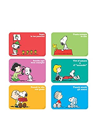 Brunch Time Untersetzer 6er Set Snoopy