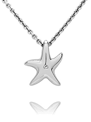 Secret Diamonds Colgante Estrella Plata 925 Diamante