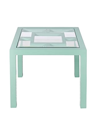 World's Away Sag Harbor Outdoor/Indoor Table (Turquoise)
