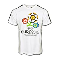 アディダス EURO2012 エンブレム Tシャツ(ホワイト)