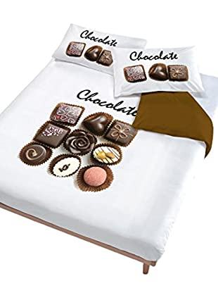 Italian Bed Linen Bettwäsche Chocolate