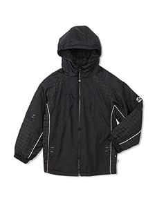 Rothschild Boy's Tonal Plaid Jacket (Black)