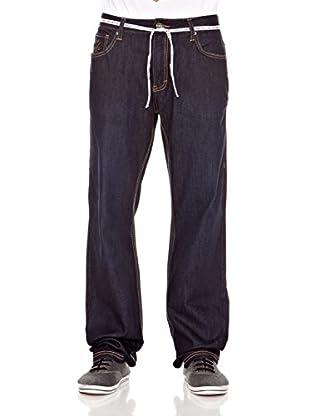 Grimey Wear Pantalón Denim Classic (Azul Índigo)