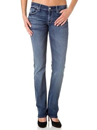 7 for all mankind Jeans Capistrano Straight Leg (Blau)