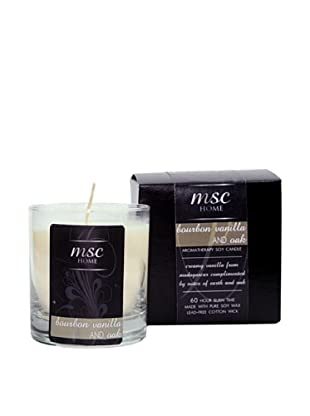 MSC Skin Care and Home 8-Oz. Soy Candle in Glass Vessel, Bourbon Vanilla/Oak