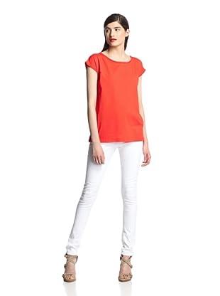 Surface to Air Women's Singa Top (Orange Red)