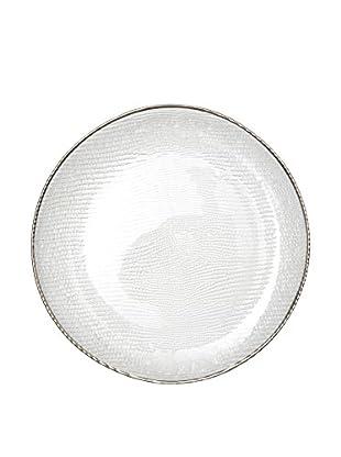 Molecuisine Speiseteller Platinum transparent/silber