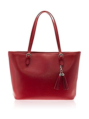 Lisa Minardi Bolso shopping  Rojo