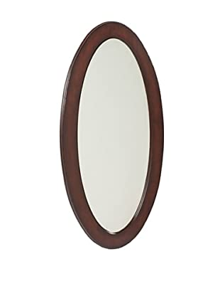 Butler Specialty Company Oval Mirror, Plantation Cherry