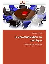 La Communication En Politique (Omn.Univ.Europ.)