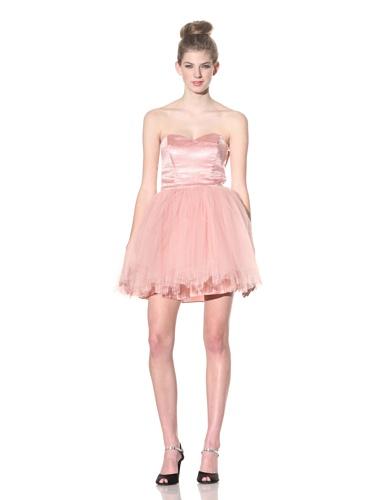 Betsey Johnson Women's Evening Cherry Blossom Dress (Blush)