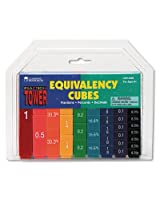 Learning Resources : Fraction Tower Activity Set, Math Manipulatives, For Grades 1 6 : Sold As 2 Packs Of 51 / Total Of 102 Each