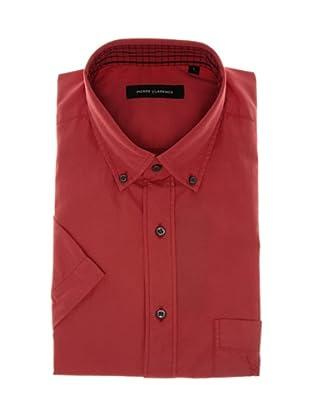 Pierre Clarence Camisa de manga corta (Rojo fuerte)