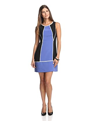 Jessica Simpson Women's Colorblock Dress (Violet Storm)