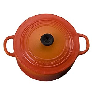 Le Creuset Round French Oven Magnet, Flame
