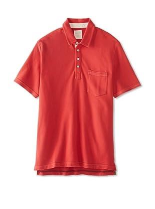 Billy Reid Men's Talladega Polo (Faded Red)