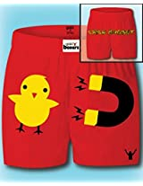 Chick Magnet Boxer Shorts Womens Small