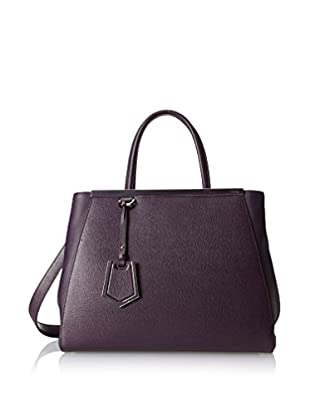 Fendi Women's 2 Jours Tote, Dark Purple