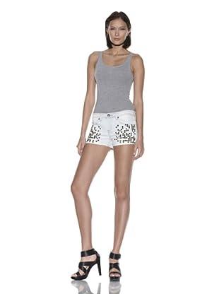 [BLANK NYC] Women's Studded Denim Short (Inorganic)