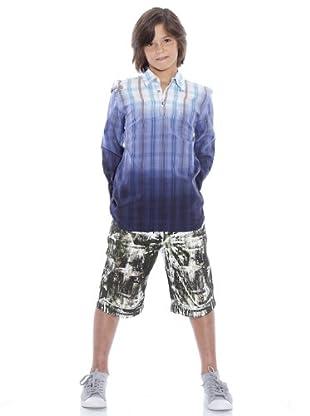 Custo Camisa Marco (azul / blanco)