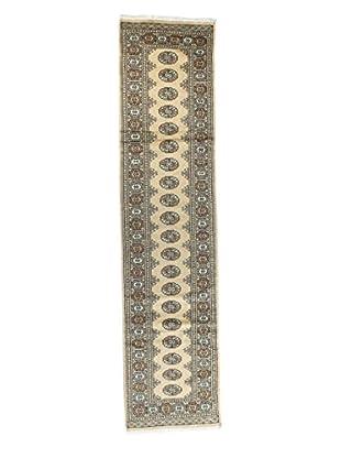 Bashian Rugs Hand-Knotted Pakistani Royal Bokara Rug, Beige, 2' 5