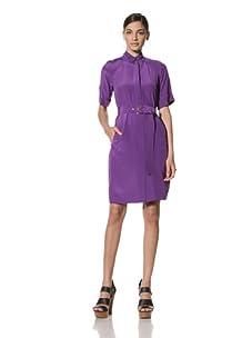Donna Morgan Women's Trench Dress (Amethyst)