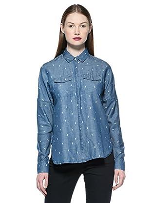 55Dsl Camisa Spur (Azul)