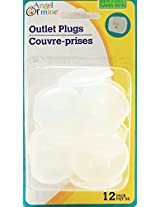 12 Count Angel of Mine Outlet Plug Covers Child Safe BPA Free for Baby Safety (Pack of 2)
