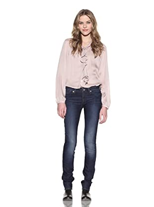 4 Stroke Women's The Rose Skinny Jeans (Karma/Med Indigo)