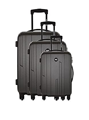 BAGSTONE Set 3 Trolley Rigido Love