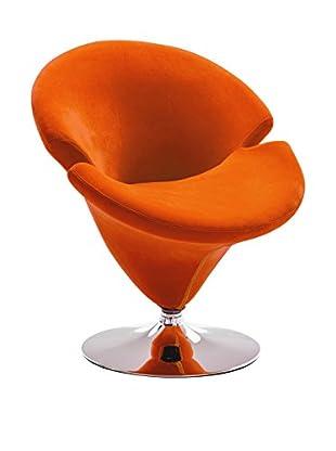 Premier Houseware Sillón 2403509 Naranja