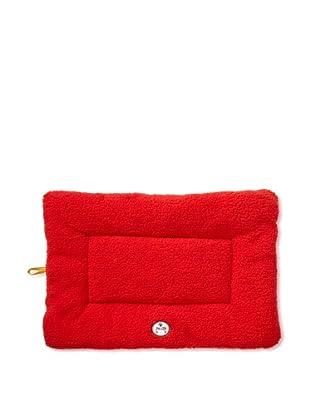 Pet Life Eco-Paw Reversible Pet Bed (Red/Orange)