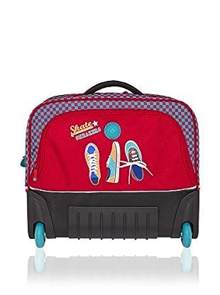 Delsey Mochila trolley Junior Rojo
