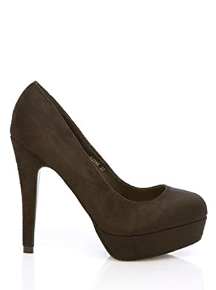Benini Zapatos Salón Plataforma (Negro)