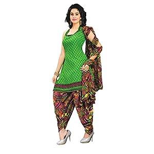 Sofiya Crepe Patiala Churidhar Material