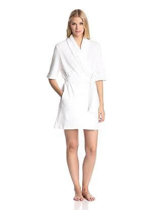 Skin Women's Short Robe (White)