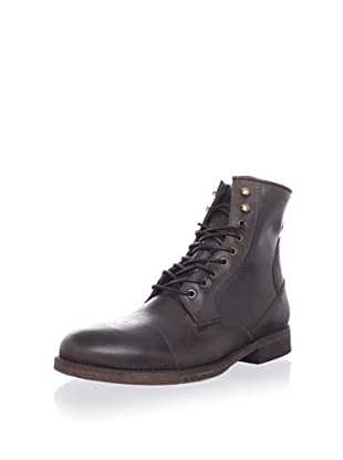ksubi Men's Newman Lace-Up Boot (Brown Rustico)
