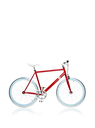 Solé Bicycle Company Fixed Gear Single Speed Bicycle (Red/White)