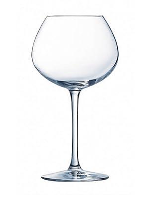 Chef & Sommelier Copas De Vino Estuche 6, 35 Cl Modelo Chardonnay Grands Cepages
