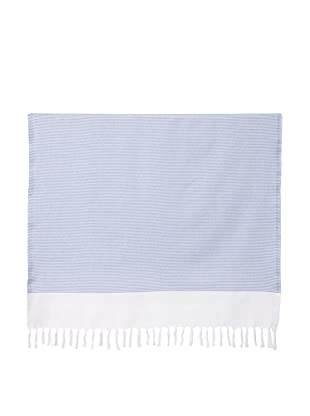 Nine Space Ayrika Collection Thin Stripe Fouta Towel (Navy)