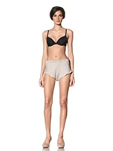 The Lake & Stars Women's Momument Tap Pant With Netting Channel Detail (Beige)