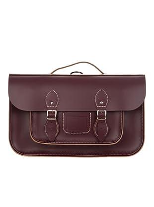 Satchel Bag Bolso Grande (burdeos)