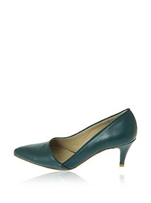 Pierre Cardin Zapatos Salón Judith (Azul Petróleo)