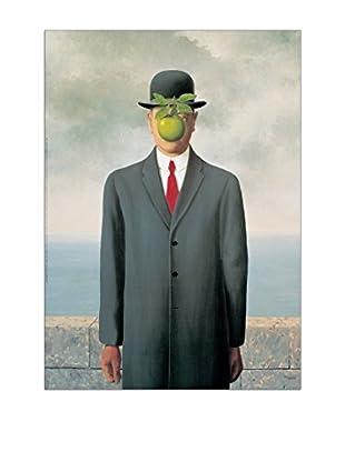 ArtopWeb Panel de Madera Magritte Les Fils De L