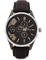 Fossil Analog Watch - For Men Dark Brown - ME1123